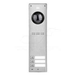 FAM-PRO-3NP NT - 3nr panel wideodomofonowy natynkowy