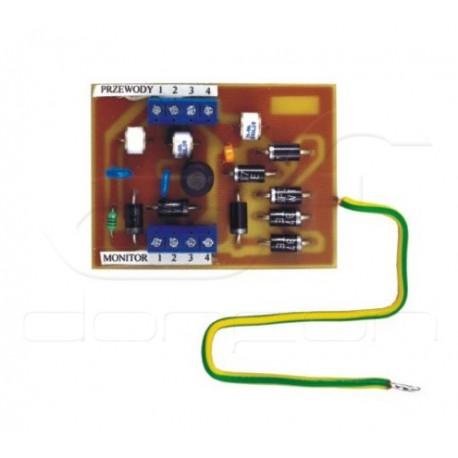 MD-ZM12 - moduł zabezpieczenia przeciwprzepięciowego wideomonitora - Commax