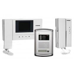 CDV-35A/DRC-4CAN/DP-4VHP - 1nr zestaw wideodomofonowy z dodatkowym unifonem - Commax