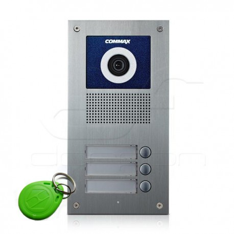 DRC-3UC/RFiD - Panel wideodomofonowy 3nr z czytnikiem RFiD Commax