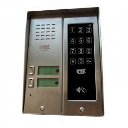 5025/2D-ZK-RF - Panel analogowy 2nr Urmet / RFiD+kod