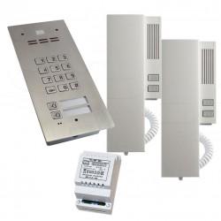 FAM-SET-2ZS - Zestaw domofonowy Aco Familio / klawiatura + 2 przyciski