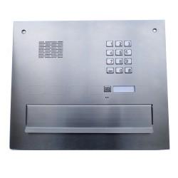 SM-1-ST/FAM-1ZS - Skrzynka na listy z domofonem / szyfratorem / 1 nr