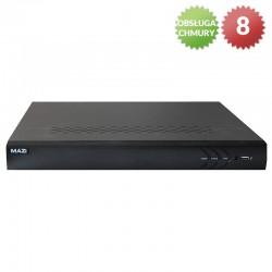 INVR-04AL - Rejestrator IP / 4 kanały / 1HDD / VGA, HDMI / 5Mpx
