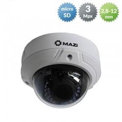 IDH-33VR - Kamera kopułkowa IP / 3 Mpx / 2,8-12mm / TDN / PoE / IR LED