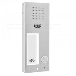 6025/PR1-RF - Płyta rozmówna (front) ELITE z 1 przyciskiem i czytnikiem RFiD