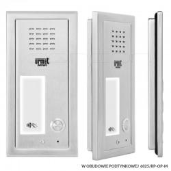 6025/PR1-RF + RP-OP-M - Panel ELITE 1nr / RFiD/ z ramką podtynkową