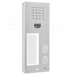 6025/PR2 - Płyta rozmówna (front) ELITE z 2 przyciskiem