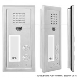 6025/PR2-RF + RP-OP-M - Panel ELITE 2nr / RFiD/ z ramką podtynkową