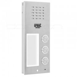 6025/PR3 - Płyta rozmówna (front) ELITE z 3 przyciskami
