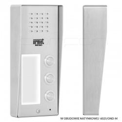 6025/PR3+OND-M - Panel ELITE 3nr z obudową natynkową
