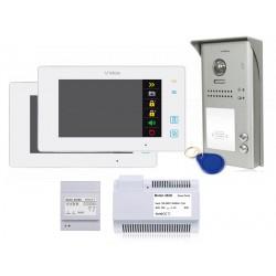 Zestaw wideodomofonowy 2nr / S1102A + 2xM1021W Vidos DUO