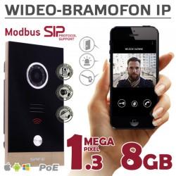 G06MP - Wideodomofon IP Safe PODTYNKOWY 1,3Mpx / 8GB