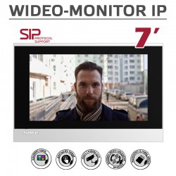 S31IP SIP (PoE) - Wideomonitor 7'' z systemem Android Safe