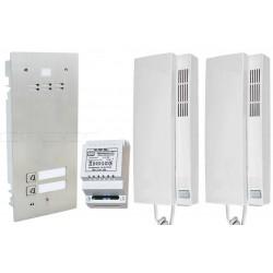 FAM-SET-2 - Zestaw domofonowy Aco Familio / 2 przyciski