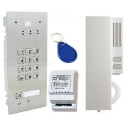 FAM-SET-1ZSACC - Zestaw domofonowy Aco Familio / 1nr + klawiatura + RFiD
