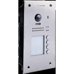 S1204A  - 4 nr Stacja bramowa wideodomofonu Vidos DUO