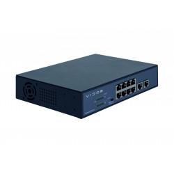 PS82/120  - Switch POE 8-portowy Vidos ONE